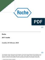 Roche Earnings Presentation February 2018