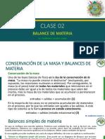 CLASE 02 FENÓMENOS DE TRANSPORTE