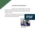 Registro de Detección de Hidrocarburos