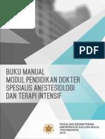 Buku Manual Modul PPDS Anestesiologi Dan Terapi Intensif UGM