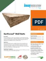 KIAU0315172DS Wall Batts Datasheet LR