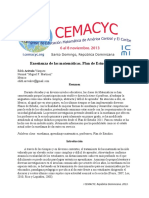 ArévaloEnseñanzaCemacyc2013.pdf