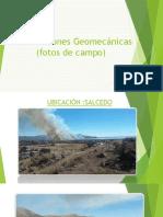 Clasificaciones Geomecánicas