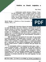 NADAI ELZA O Ensino de História No Brasil - Trajetoria e Perspectiva