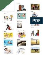 25 Verbos en Español Ilustrados