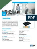 Zxa10 Xpon Ont产品宣传资料单页英文-V11