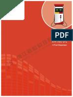 Fuel Dispenser machine pump
