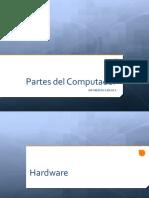 INFORMÁTICA BÁSICA 2 y 3 Partes Del Computador
