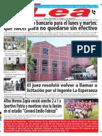 Periódico Lea Viernes 16 de Febrero Del 2018