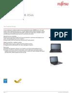 Fujitsu Lifebook a544