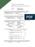 Soal Soal Uas Akuntansi Lanjut Semester 3