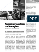 """Geschichtsfälschung auf Hochglanz - Die """"Deutsche Militärzeitschrift"""" LOTTA #23"""