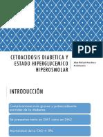 Cetoacidosis Diabetica y Estado Hiperglucemico Hiperosmolar