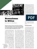 Neonazismus in Witten LOTTA #23