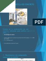 Diseño de Mezcla de Concreto (2800 Psi)