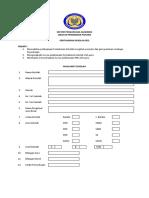 Instrumen Pemantauan PS & Penjaminan Kualiti 2018