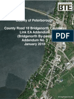 Bridgenorth Bypass Environmental Assessment Addendum 3 Report