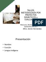 Proyecto didáctico Patzcuaro