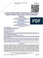 A FUZZY ENVIRONMENT STRATEGIES FOR OPTIMAL AGRICULTURAL LAND ALLOCATION IN KRISHNA DELTA