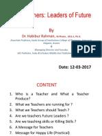 Our Teachers