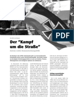 """Der """"Kampf um die Straße"""" - Extrem rechte Demonstrationspolitik LOTTA #24"""