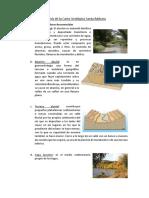 Análisis de Carta Geológica