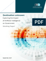 Destination Unknown AI and Government