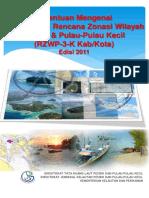 Ketentuan Penyusunan RZWP3K Kab/Kota 2011