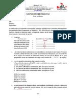 Cuestionario Preguntas Ds055 Ventilacion