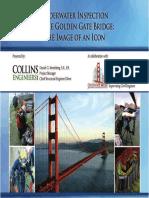 Underwater Inspection of the Golden Gate Bridge