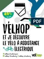 Vélhop se met à l'électrique