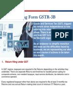 GST Understanding Form GSTR 3B