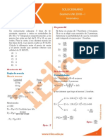 Matemática de la Academia Trilce 2018-1