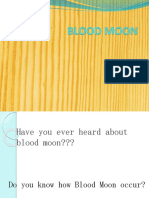 Explanation Of Blood Moon