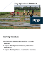 Conducting Agricultural Research (5)