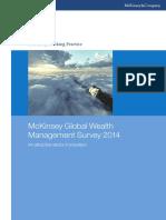 Global Wealth Management Survey 2014