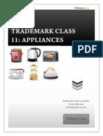 Trademark Class 11 Appliances