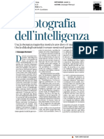 La fotografia dell'intelligenza - Il Corriere della Sera del 16 febbraio 2018