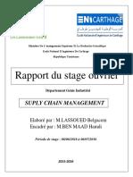 Rapport de Stage 2.0