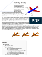 Flight Dynamics (Fixed-wing Aircraft)
