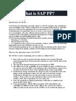 SAP Production Planning PDF