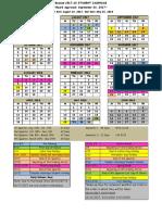 2017 18 Student Attendance Calendar Revised 9-20-17