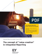 EY the Concept of Value Creation in Integrated Reporting