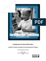 StrategiesforEffectiveTeaching SEII