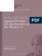 Philoponus, Against Proclus on the Eternity of the World 1-5