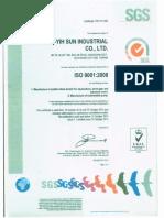 Sertifikat ISO Kincir