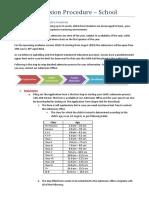 Admission Procedure 6.0 Updated 15-2-18 (2018-19)