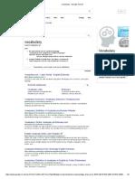Vocabulary - Google Search