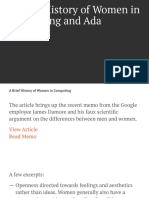 A Brief History of Woman Computing Mattheortega