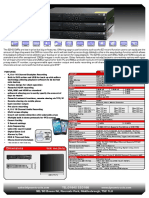 EZHD DVR Specifications